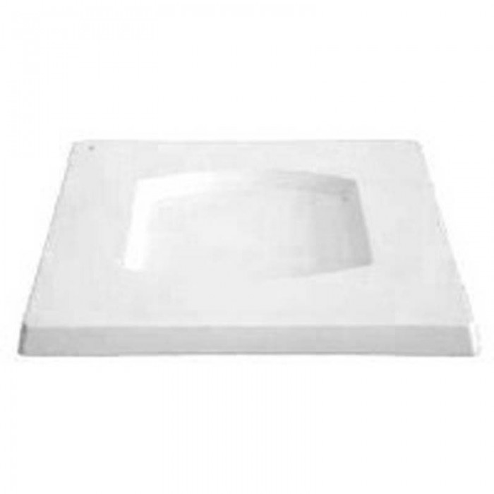 Square Platter – Barrel – 29.2×29.2x2cm – Base: 17x16cm