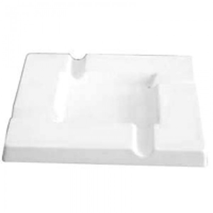 Ashtray – Square – 20.8×20.8×2.1cm – Base: 10.7×10.7cm