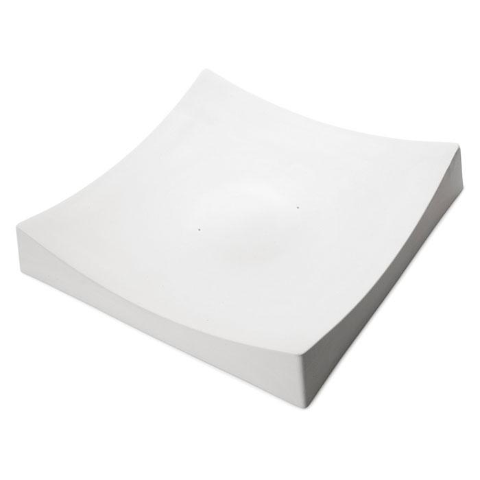 Square Slumper A – 40.8×40.4×7.1cm – Base: 5.1cm