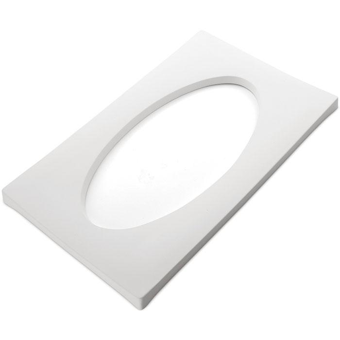 Drop Out Elipse – 26.8x44x2cm – Opening: 34.2×17.2cm