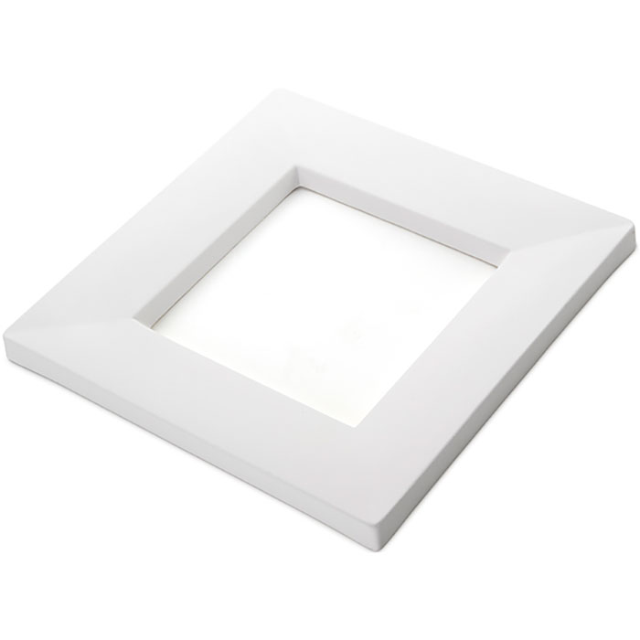 Drop Out Square – 24.2×24.2×1.7cm – Opening: 14.5×14.5×1.4cm
