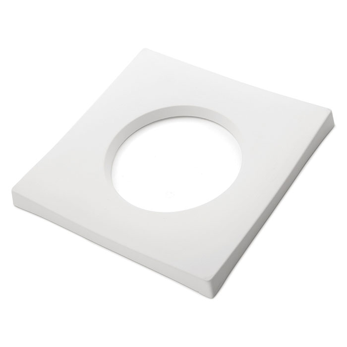Drop Out Square – 25x25x2.3cm – Opening: 15×1.3cm