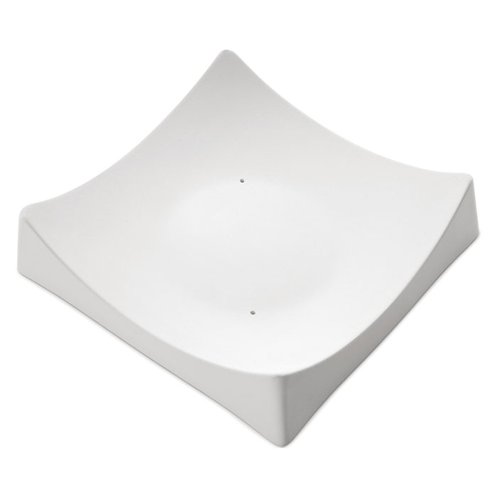 Square Slumper B – 17.3x17x4.1cm – Base: 8.7cm
