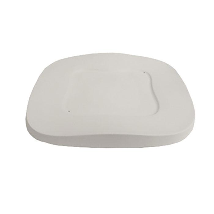Square Wavy Plate – 28.8×28.8×2.5cm