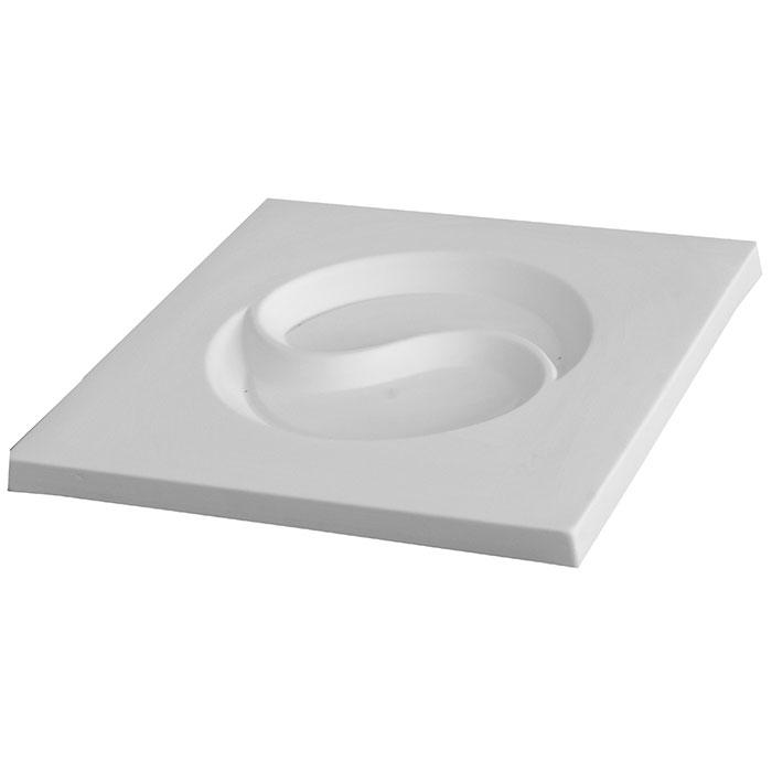 Yin Yang – 36.3×36.3×2.4cm – Base: 23.2cm