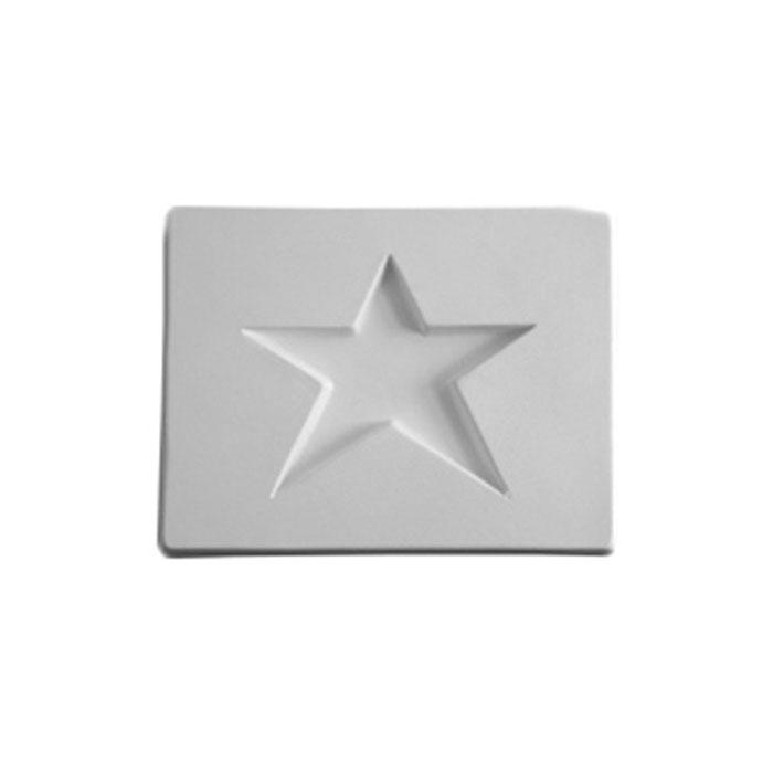 Star – 10.7×8.2×1.3cm – Opening: 6.3×6.8cm