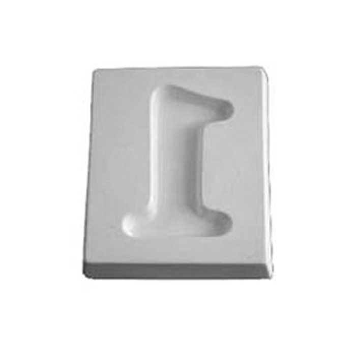 Number 1 – 12.1×10.1×1.9cm – Opening: 9.3×5.8cm